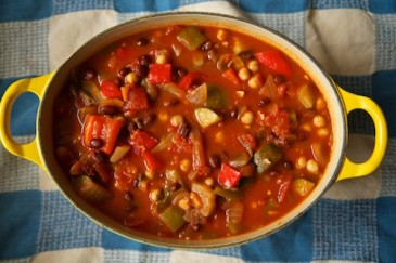 Hearty chilli