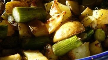 Potato asparagus